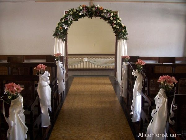 ideas para decorar la iglesia - ceremonia nupcial - foro bodas