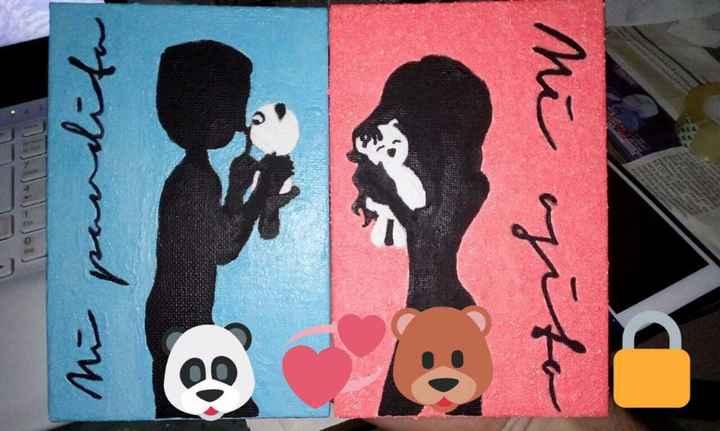 Los cuadros que pinté para nosotros