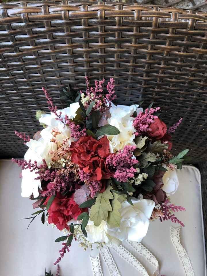 Ramo de novia con flores conservadas ¿si o no? - 1