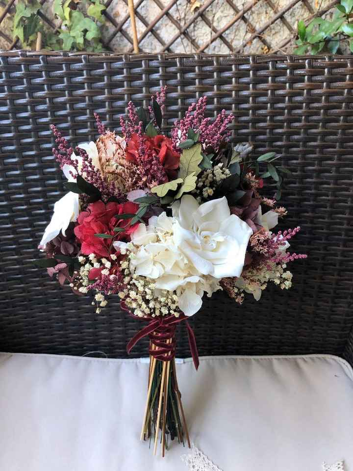 Ramo de novia con flores conservadas ¿si o no? - 2