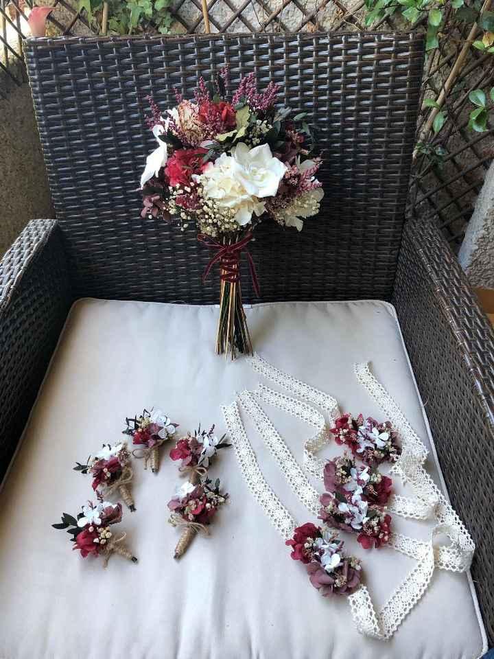 Ramo de novia con flores conservadas ¿si o no? - 3