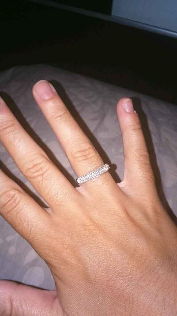 Mi anillo de pedida!!!! - 1