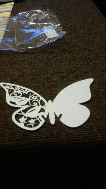 Mis mariposas de agradecimiento!!! - 1