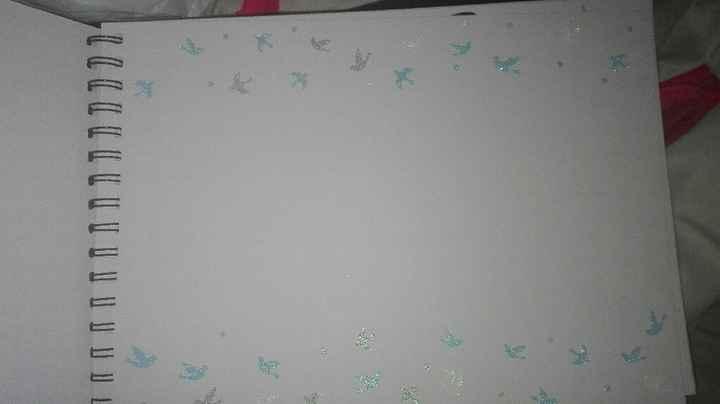 Mi libro de firmas casero casi terminado os gusta? - 1
