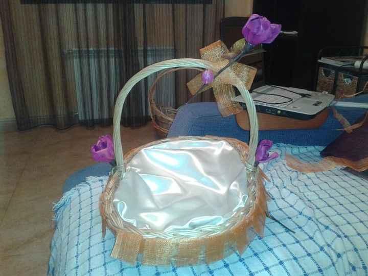 decoracion cesta
