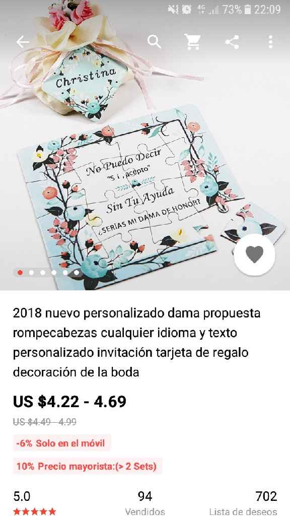Idea!! Dama de honor - 1
