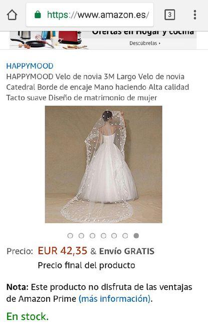 2799c7227e Velos por internet - Moda nupcial - Foro Bodas.net