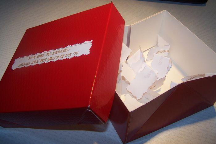 Regalo para el novio cuenta atr s manualidades foro - Manualidades regalo boda ...