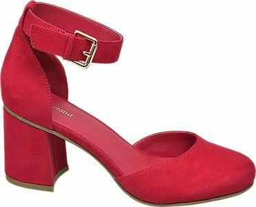 Zapatos granates novia low cost 1
