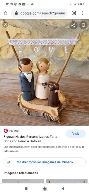 Figuras tarta nupcial 3