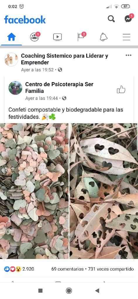 Confeti diy y reciclado - 1