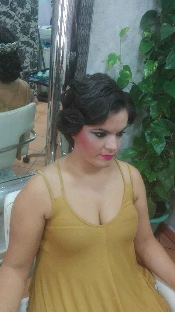 Prueba peinado y maquillaje - 1