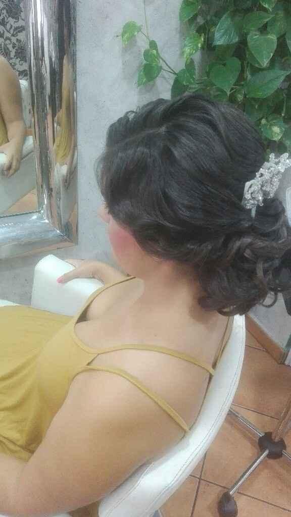 Prueba peinado y maquillaje - 3
