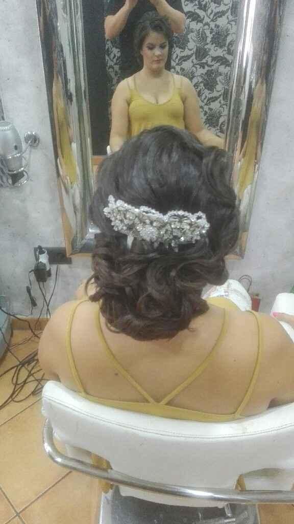 Prueba peinado y maquillaje - 4