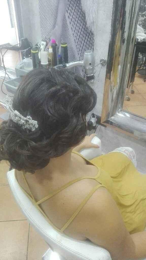 Prueba peinado y maquillaje - 5