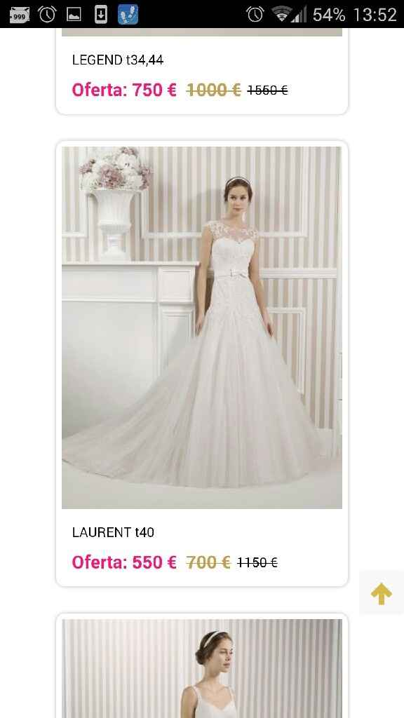 Busco este tipo de vestido pero oulet - 2