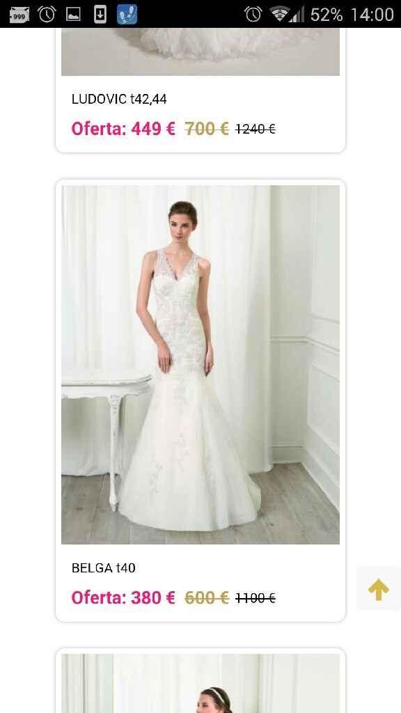 Busco este tipo de vestido pero oulet - 3