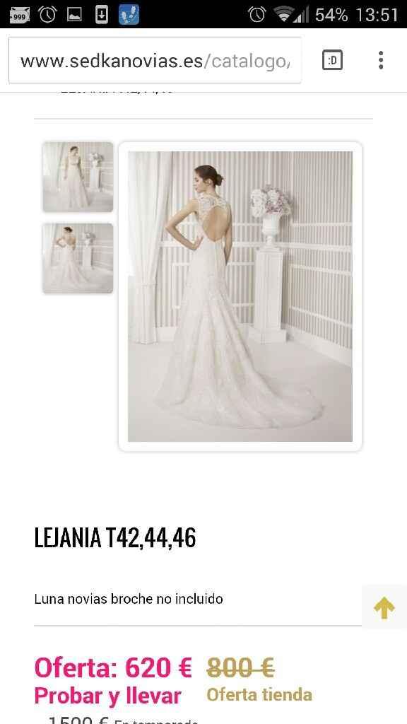 Busco este tipo de vestido pero oulet - 4