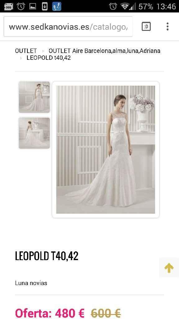 Busco este tipo de vestido pero oulet - 5