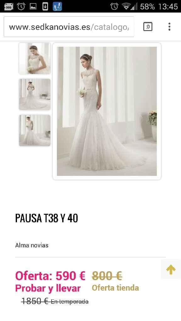 Busco este tipo de vestido pero oulet - 6