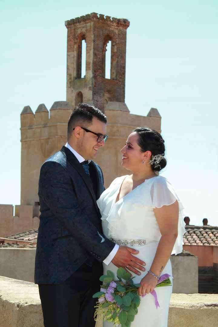 Torre de Espantaperros desde Alcazaba