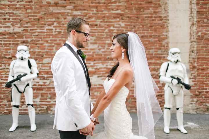 Boda temática Star wars