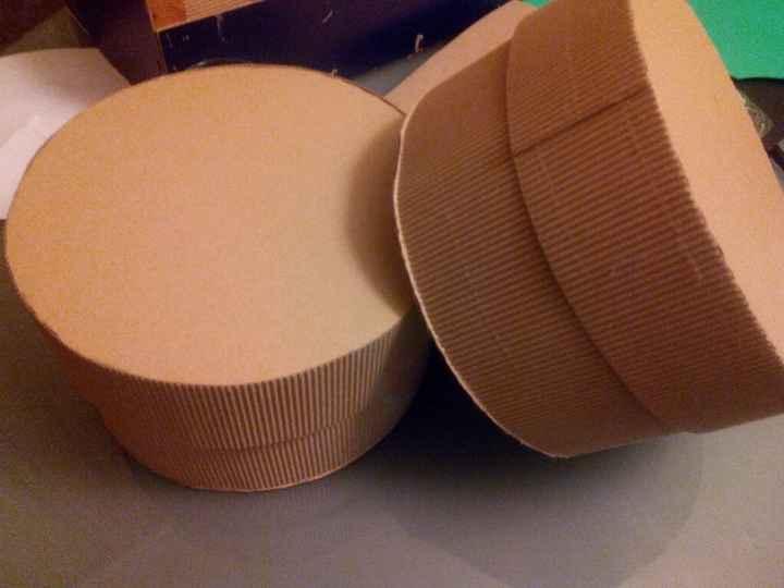 Caja circular diy : tutorial - 7