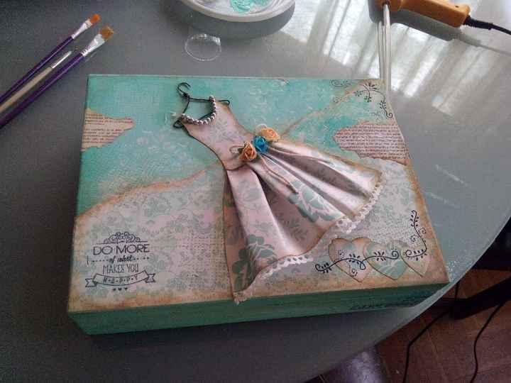 caja vintage terminada
