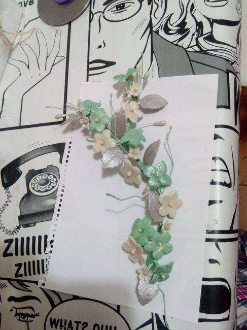 Mi tocado de porcelana fría - Manualidades - Foro Bodas.net