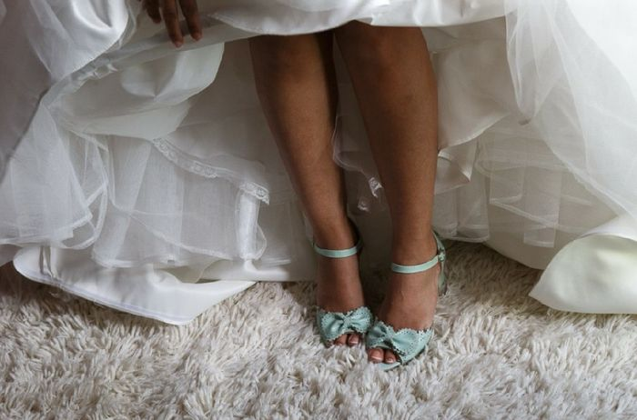 Color de zapatos para la boda - 1