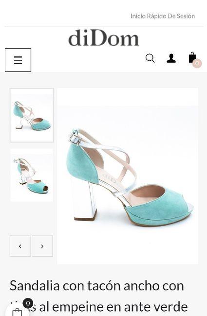 Zapatos de novia de colores 5
