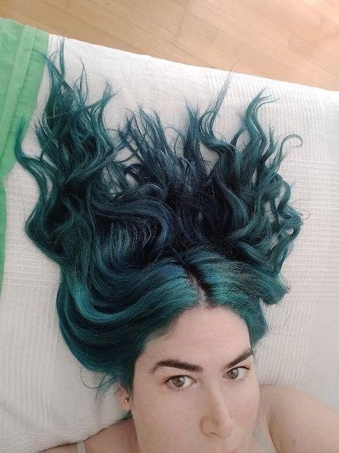Casarme con el cabello fantasía 3