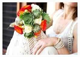 Ramo de novia cactus