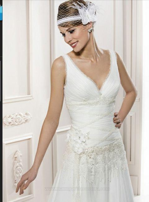 Precio vestido novia manu garcia