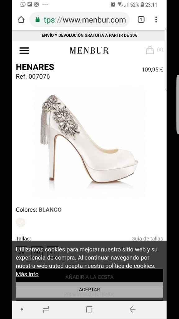 Zapatos para vestido sirena - 1