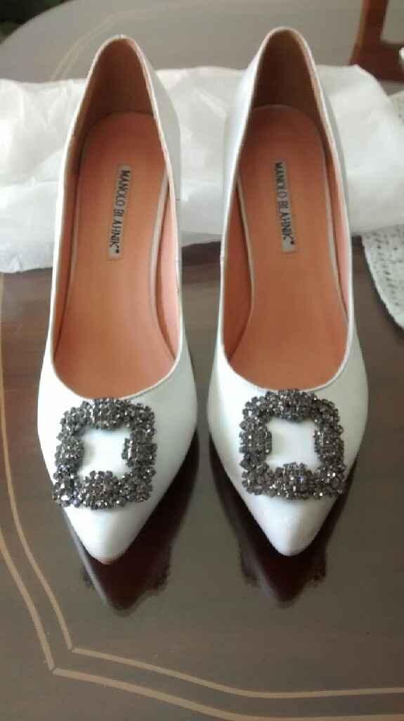 Zapatos de novia, tendencias y precios - 1