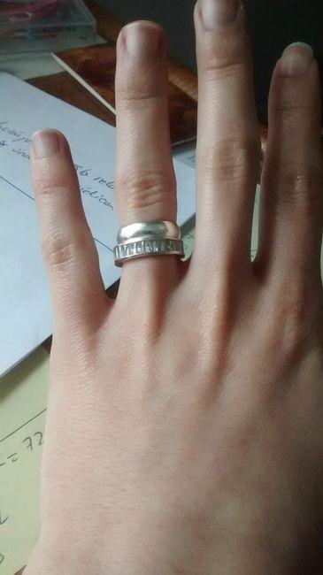 Anillo de compromiso despu s de la boda reci n casad s foro - Anillo de casado mano ...