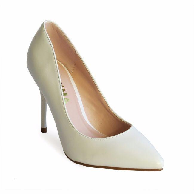 zapatos blancos en payma - moda nupcial - foro bodas