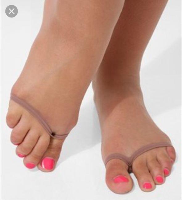 Medias Para Zapato Abierto Moda Nupcial Foro Bodas Net
