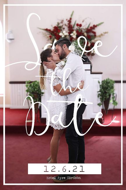 Novios que nos casamos el 12 de Junio de 2021 en Córdoba 1