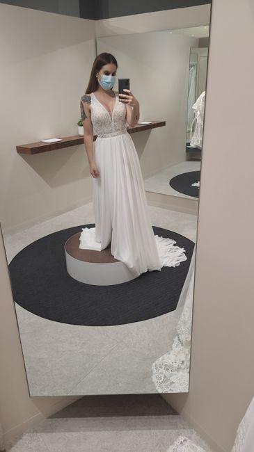 Por finnnnn mi vestido ! 🤧💞 2