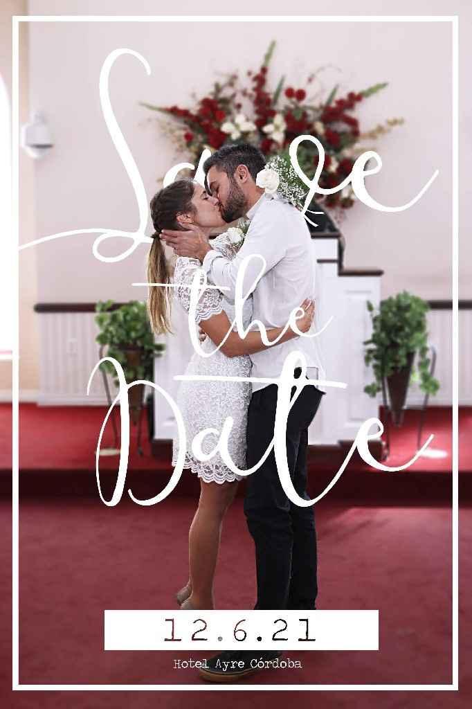 Novios que nos casamos el 12 de Junio de 2021 en Córdoba - 1