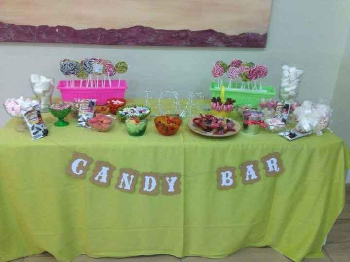 Precio candy bar - 1