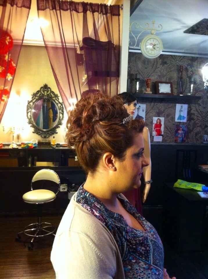 Maquillaje y peinado listo!!! - 2
