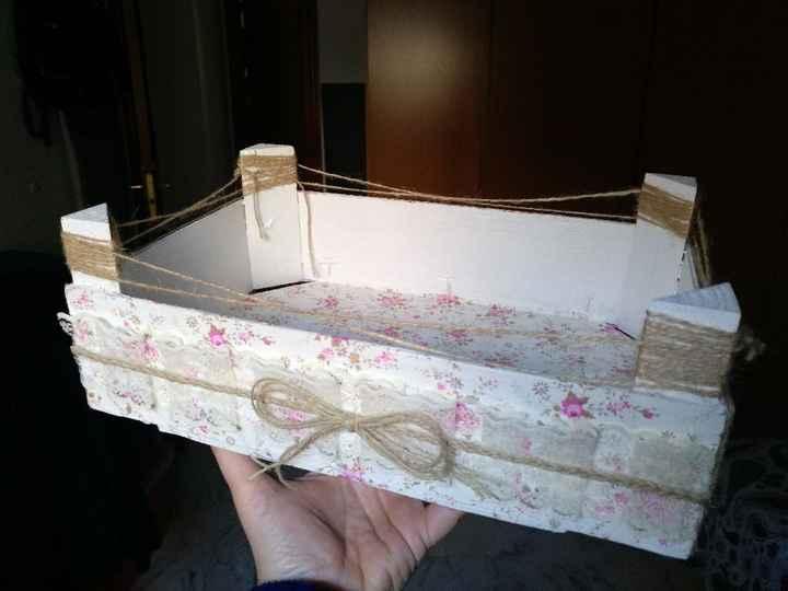 Cómo pintar cajas - 1