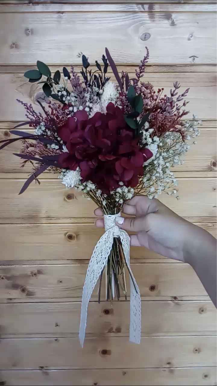 Flores preservadas o frescas? - 1