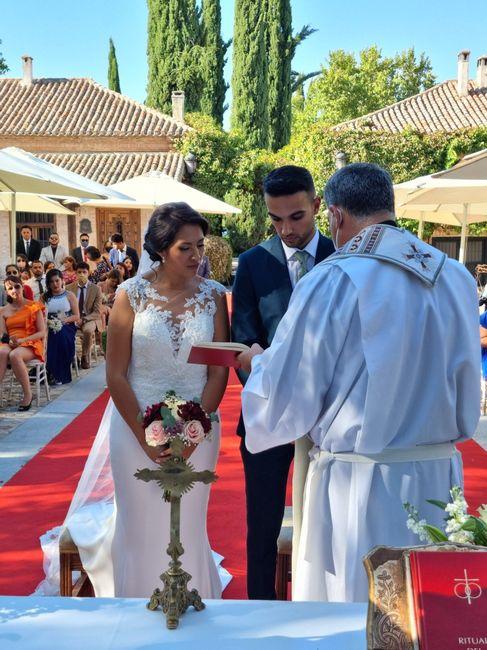 ¿Con cuántos ❤️ valoras el día de tu boda? 8
