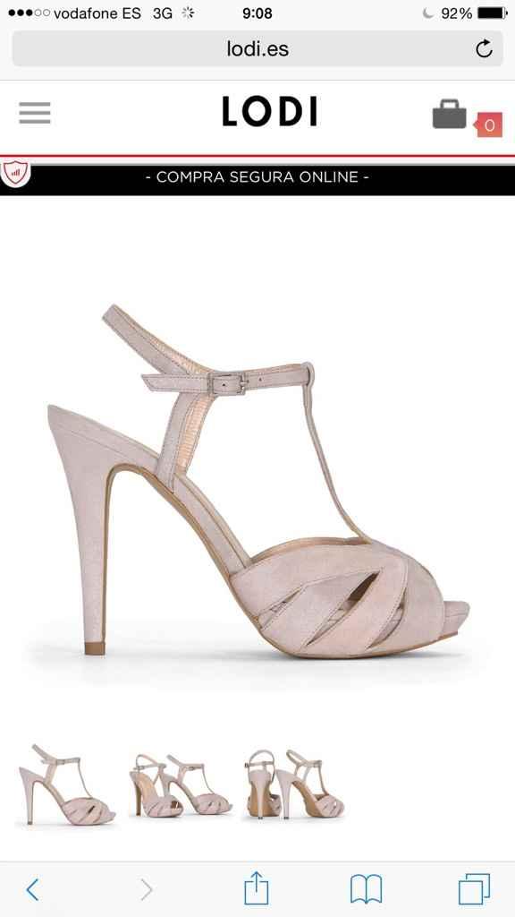 Zapatos rosa cuarzo - 1