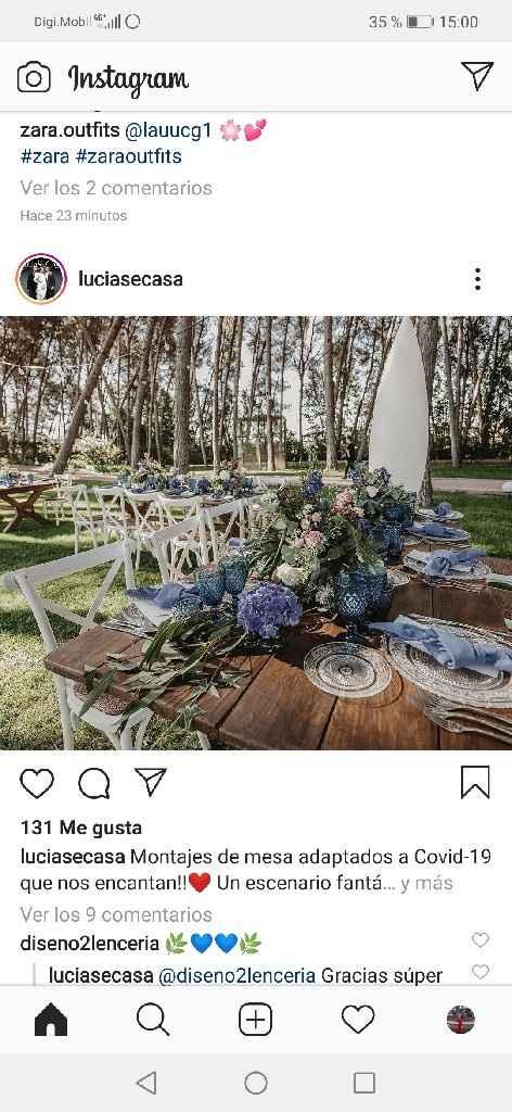 Tipo de mesas ¿rectangulares y redondas o solo un tipo de mesa? - 1