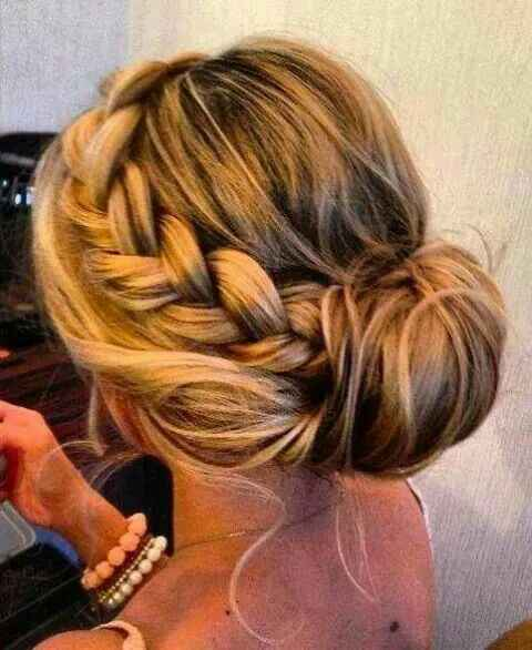 Peinado desmontable - 1